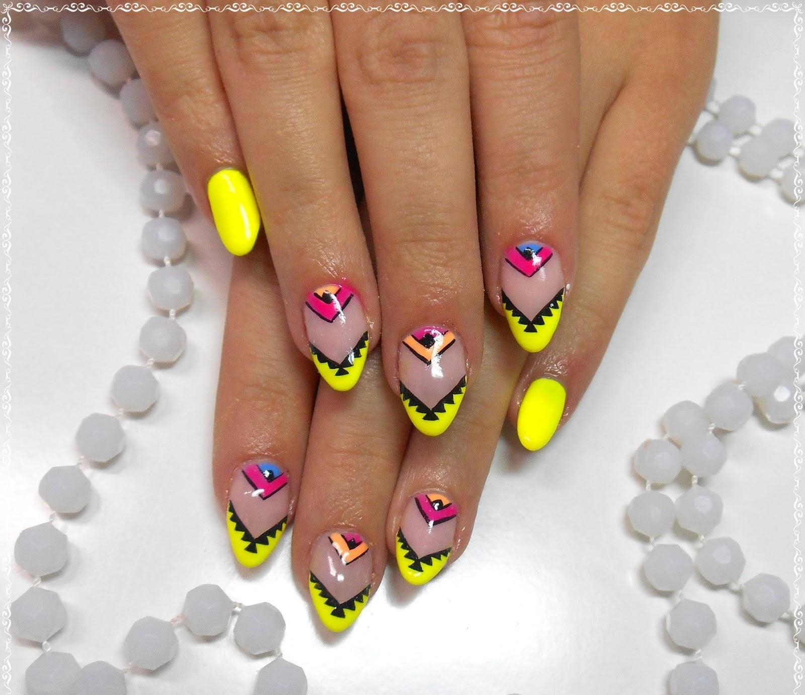 Słoneczne paznokcie