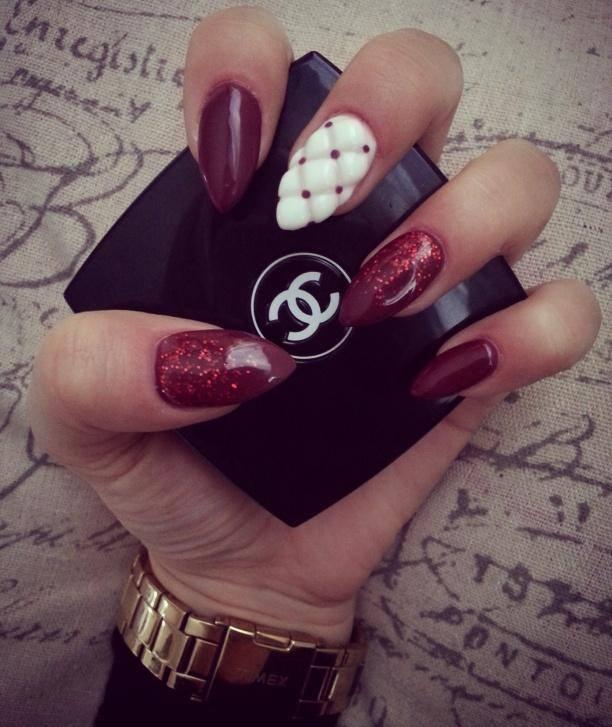Pikowane paznokcie