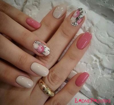 wzorki na paznokcie