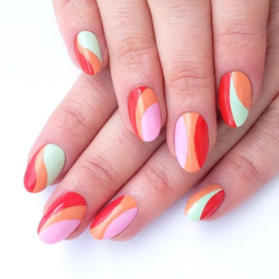 TOP 5 paznokci na ciepłe dni! Soczyste kolory!