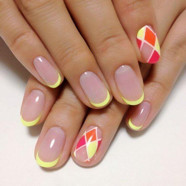 Żółte paznokcie na wiosne